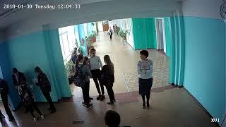 Установка ip системы видеонаблюдения в школе