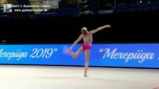 Jelizaveta Vassina (EST) - Junior 2006 13 - Merepiiga Tallinn 2019