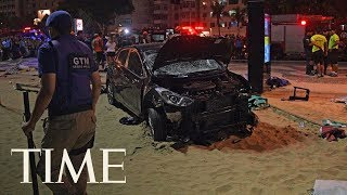 Baby Reportedly Killed, 15 Injured After Car Crashes Into Crowd At Rio's Copacabana Beach | TIME