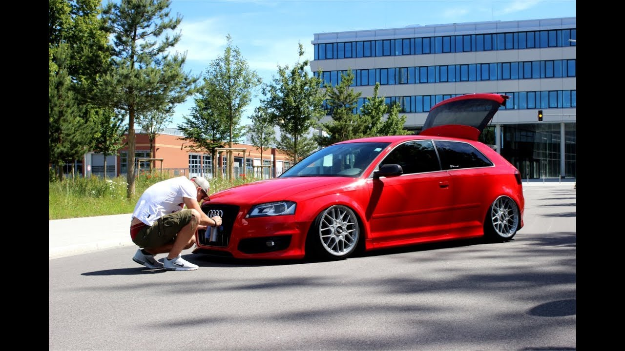 audi s3 8p bagged on 18 bbs airlift performance. Black Bedroom Furniture Sets. Home Design Ideas
