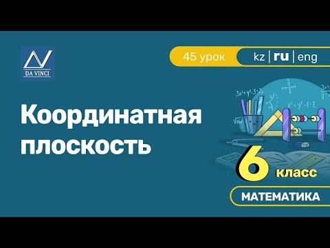 Координатные прямые видеоурок 6 класс