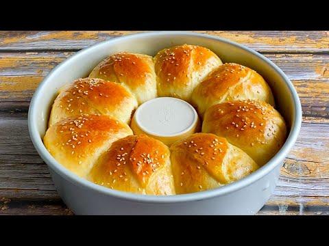 懒人面包,不加黄油不用揉出膜,1个鸡蛋半碗面,教你在家做 【三丰美食】