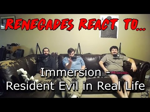 Renegades React to... Immersion - Resident Evil in Real Life