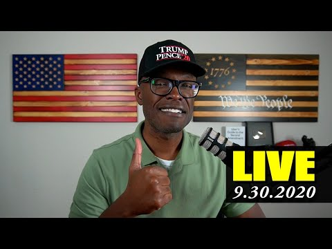 ? ABL LIVE: Presidential Debate Recap, Minneapolis Voter Fraud, Trump Taxes, BLM Scammer, and more!