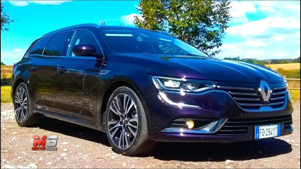 new renault talisman sporter 2017 first test drive youtube. Black Bedroom Furniture Sets. Home Design Ideas