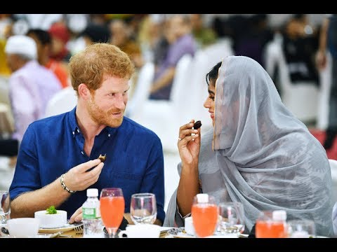 Prince Harry Breaks The Fast with Muslims During Ramadan in Singapore