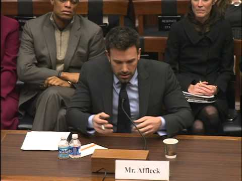 Ben Affleck, Experts Testify & Urge Action on Eastern Congo Security - VOA Congo Story
