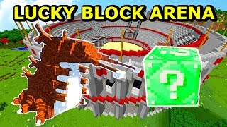 ZMUTOWANY ROBAL VS EMERALD LUCKY BLOCK! Tritsus & Koshi- Minecraft Lucky Block Arena