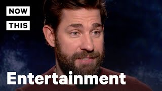 John Krasinski and Emily Blunt on Horror Film 'A Quiet Place' | NowThis