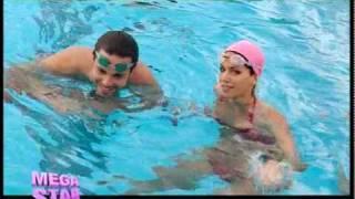 Η Στικούδη στην πισίνα με τον Βρετό - Megastar (HQ)
