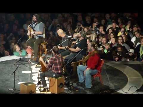 Zac Brown Band Acoustic  -  Seven Bridges Road