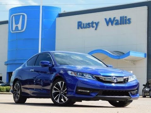 used cars 39 16 honda accord coup ex at rusty wallis honda in dallas tx youtube. Black Bedroom Furniture Sets. Home Design Ideas