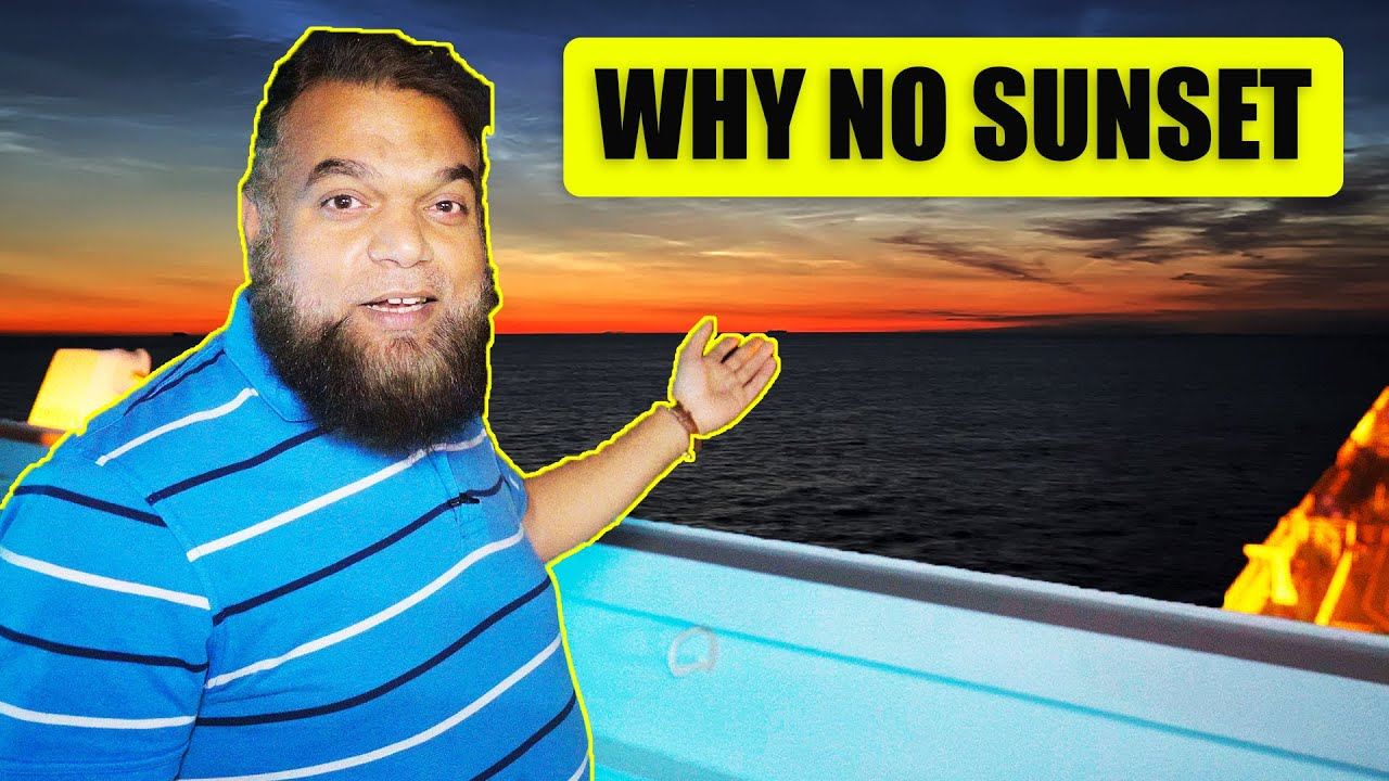 Why SUN doesn't SET here ...