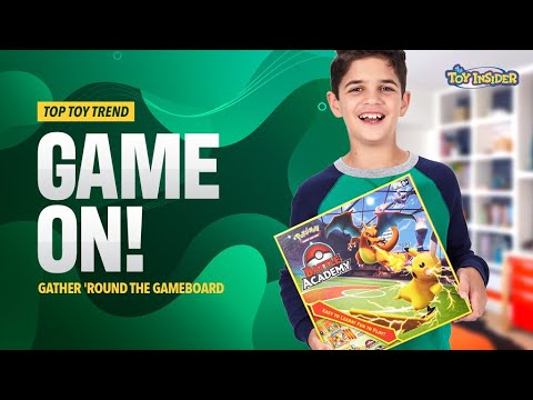 Toy Insider Top Toy Trend 2020: Game On