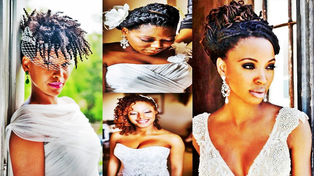 2016 wedding hairstyles for black and african american women - youtube