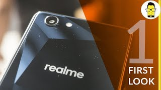 Realme 1 first look:  is it the Redmi Note 5 Pro killer?