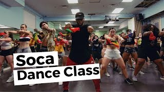 MUST WATCH SOCA DANCE CLASS | @BIZZYBOOM