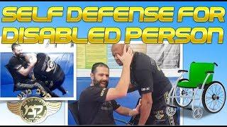 Krav Maga Self Defense For Disabled Person