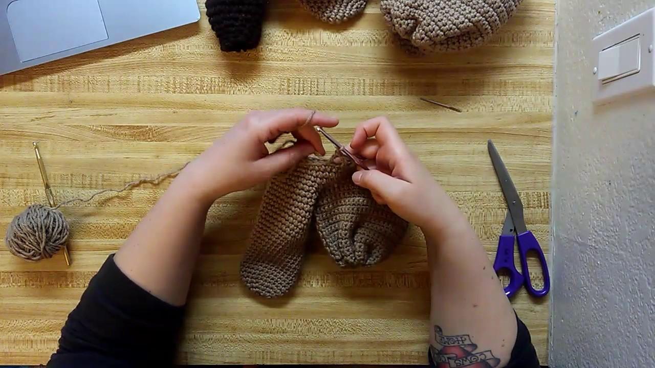Crochet Penis Warmer Tutorial Part 6 Creating Drawstring Loops Youtube