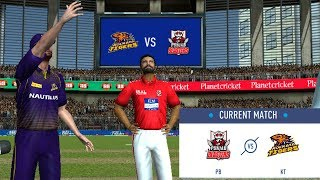 #1 KKR vs KXIP - Our team Rcpl / IPL 2019 -2020 Real Cricket 19 Tournament