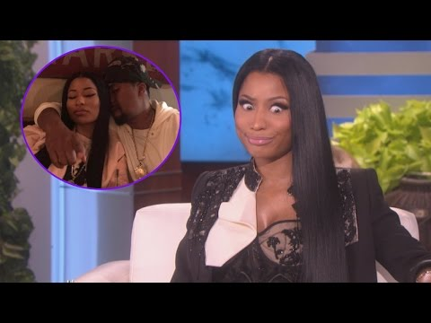 Nicki Minaj Addresses Nas Romance Rumors: We've Had 'Sleepovers'