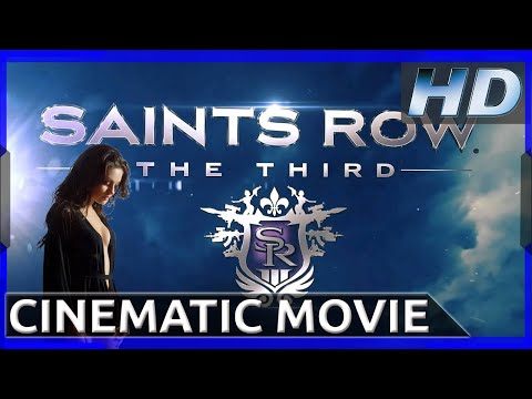 Saints Row III + DLC : Cinematic Movie - FEMALE EDITION (HD 1080p)