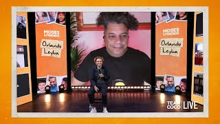 Orlando Leyba On His New Team Coco-Produced Show 'Wreck League' – Team Coco LIVE: Moses & Friends