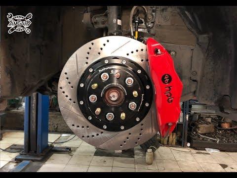 Тойота Камри V70: замена передних тормозов