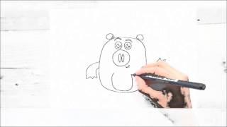 Aprende a dibujar a Banjo