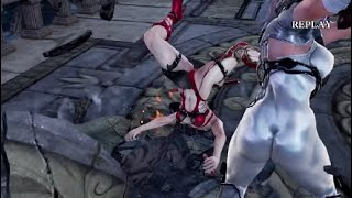 Soulcalibur VI Taki Dressed as Ivy Vs Ivy Dressed as Taki