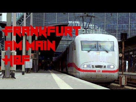Züge/Trains in Frankfurt (Main) Hbf - Trainspotting