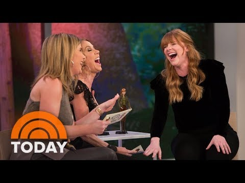 Bryce Dallas Howard Ps 'Jurassic World: Fallen Kingdom' And Plays With The Toys  TODAY
