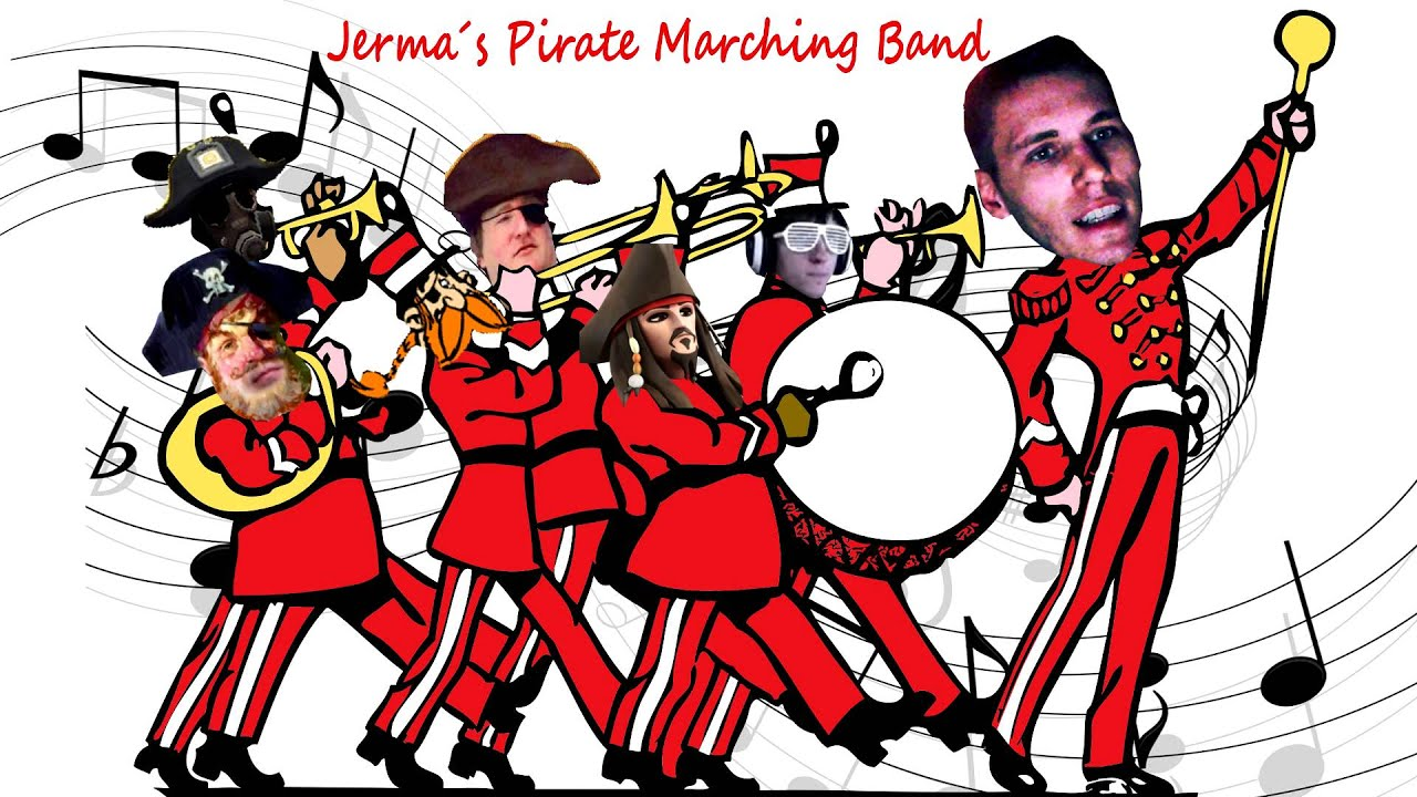 Jerma's Pirate Marching Band (ft. DJ ster) - YouTube