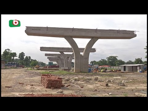 দ্রুত এগিয়ে চলছে ঢাকা এলিভেটেড এক্সপ্রেসওয়ের কাজ | Dhaka Elevated Express Way | Partha | 22Jun18