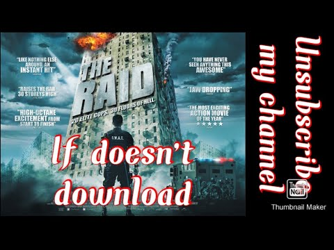 Download How to download the raid redemption movie HD in Hindi