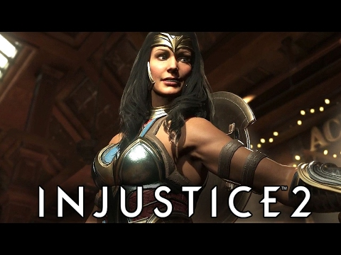 The Amazon Strikes Back!   Injustice 2 Chapter 8: Wonder Woman