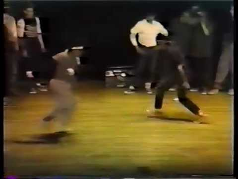 Granite B-Boy Rival meet South High School Radioactive in Assembly 1983