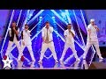 The Girls SCREAM for Boy Band 5 ALIVE on America's Got Talent 2017