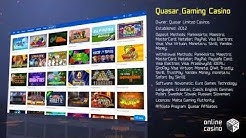 All the tricks of playing in Quasar Gaming casino in the review by OnlineCasinoBOX.net