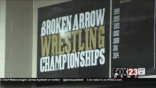 VIDEO - Broken Arrow wrestling trying to get over state title hump