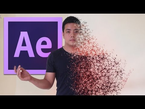 After Effects Tutorial: Disintegration Effect