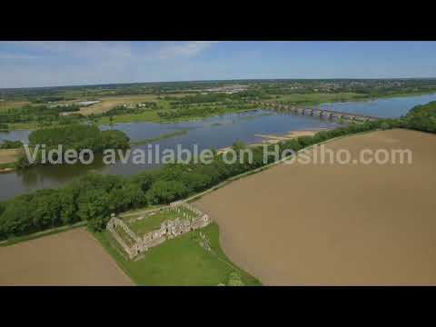 THE FARM OF DESERT, CHALONNES-SUR-LOIRE, VIEW BY DRONE 1