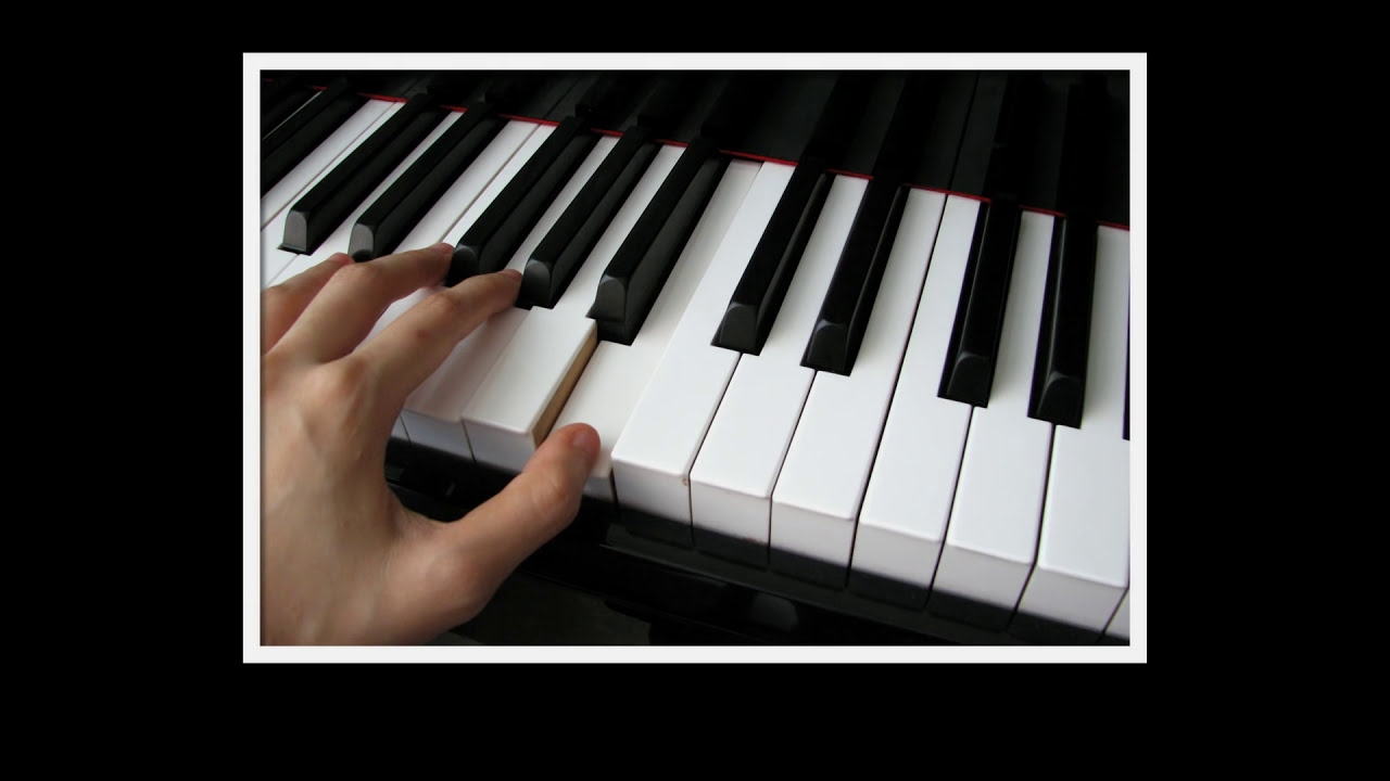 How to Learn the Piano Keys: Beginning Piano Lesson - YouTube