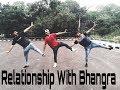 Bhangra on yaar khade ne || Dilpreet Dhillon || Rockey Mental || Relationship with Bhangra
