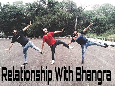 Bhangra on yaar khade ne || Dilpreet Dhillon || Rockey Mental || Relationship with Bhangra