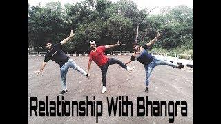 Bhangra on yaar khade ne    Dilpreet Dhillon    Rockey Mental    Relationship with Bhangra