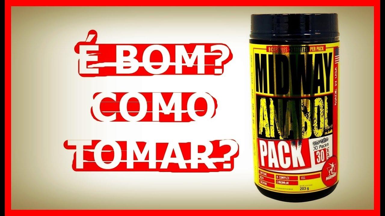 3fddeb42b Midway Anabol Pack É BOM E COMO TOMAR  - YouTube