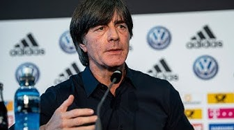 Joachim Löw beruft drei Neulinge in den Kader | DFB Pressekonferenz