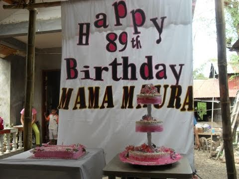 How Should I Celebrate My Mother's 85th Birthday?