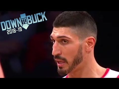 Enes Kanter 18 Points Trailblazers Debut Full Highlights (2/21/2019)